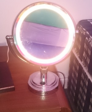 Small makeup mirror