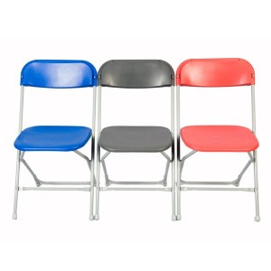 Blue Folding Chairs for Rent